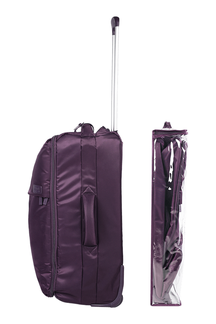Pliable Koffert med 2 hjul 65cm Purple   3