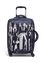 Izak Zenou Collab Koffert med 4 hjul 55cm Pose/Night Blue