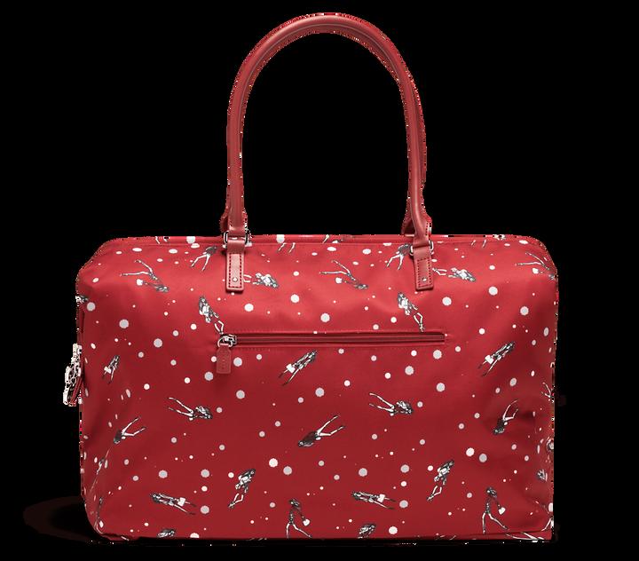 Izak Zenou Collab Weekend Bag M Pose/Garnet Red | 2