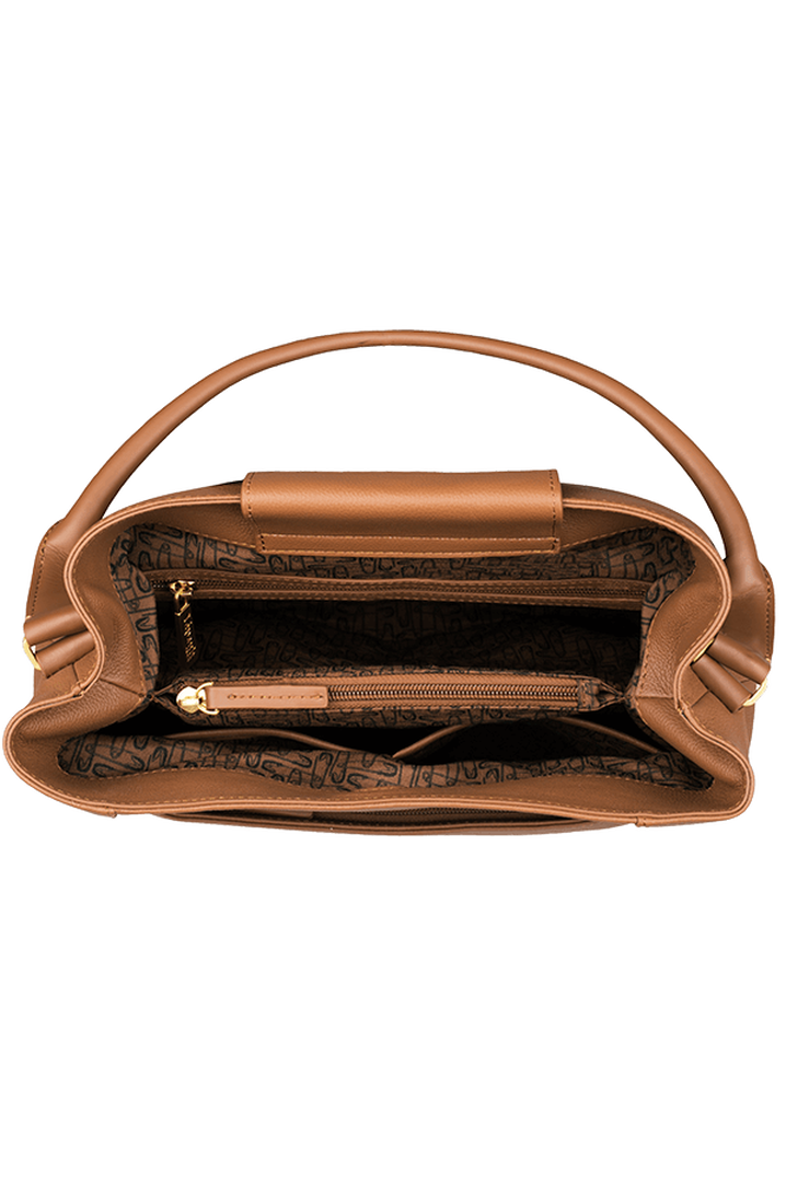 Plume Elegance Hoboveske Cognac | 2
