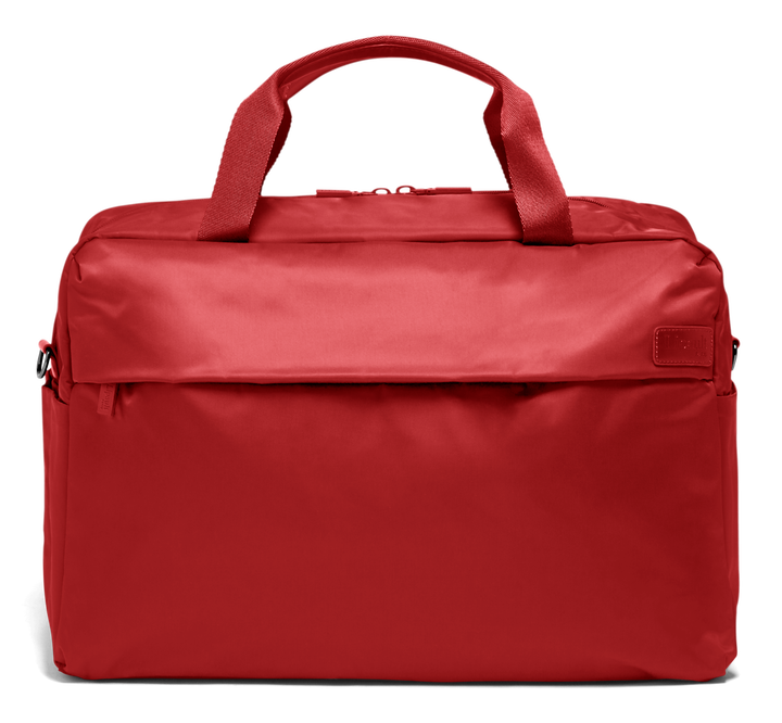 City Plume Weekend Bag  Cherry Red   1
